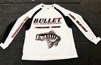 Bullet Fishing Team Pro Style Jersey with Bass Graphic