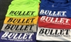 Classic Bullet Logo Short Sleeve Quick Dry Jersey Assorted Colors