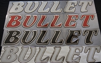Bullet Large Domed Side Boat Decal or Rear Window Decal