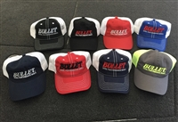 Bullet Mesh Back Series Logo Hats