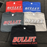 CLASSIC BULLET FRONT LOGO T-SHIRT ASSORTED COLORS