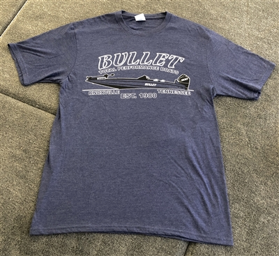 Bullet Vintage Style T-shirt with Graphic Boat Logo