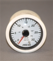 Replacement Water Pressure Gauge White or Black Bezel