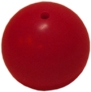 Red Cord End Ball for finishing Cleanable Hygenicord Pull Cords