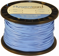 Cleanable Hygenicord Blue/Glows Blue -1000ft Spool