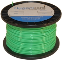 Cleanable Hygenicord Fluorescent Green - 500ft