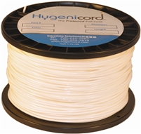 Cleanable Hygenicord White/Glows Green-250ft