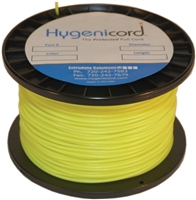 Cleanable Hygenicord Yellow/Glows Gree -250ft Spool