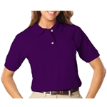 Blue Generation Ladies Short Sleeve Pique Polo (BG6204)