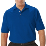 Blue Generation Men's Short Sleeve Pique Polo (BG7204)