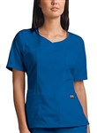 Cherokee Ladies  V-Neck Fashion Top (C4746)
