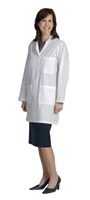 Fashion Seal Ladies Skimmer Length Lab Coat (FS440)