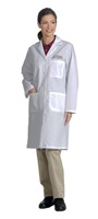 "Fashion Seal Ladies 39.5"" Traditional Length Lab Coat (FS477)"