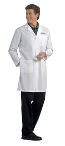 Fashion Seal Men's Knee Length Lab Coat (FS485)