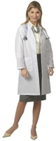 Fashion Seal Ladies Traditional Length Lab Coat (FS486)
