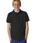 Jerzee Spotshild Jersey Youth Knit Polo (J437Y)