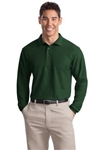 Port Authority® Men's  Long Sleeve Poly/Cotton Polo  (K500LS)