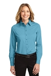 Port Authority® Ladies Long Sleeve Easy Care Shirt (L608-MG)