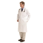 Landau Men's  Full Length Lab Coat (LAN3138-WWF TALL)