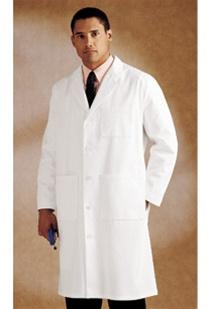 Landau Men's Full Length Lab Coat (LAN3140-WWT)