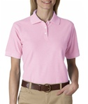 UltraClub Ladies Whisper Pique Polo (UC8541)