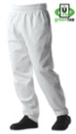 Uncommon Threads Classic Baggy White Chef Pant (UT4000WHITE)