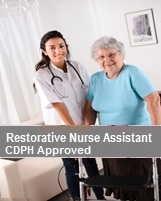 Restorative Nurse Assistant Program