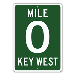 Mile 0 Key West Mile Marker