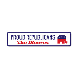 Proud Republicans Sign