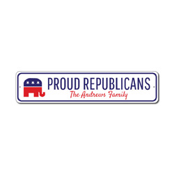 Republican Family Sign