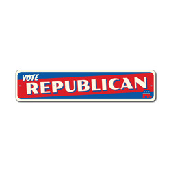 Vote Republican Sign