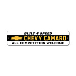 Camaro Sign, Camaro Owner Gift, Chevy Bowtie Sign, Chevy Quote Sign, Chevy Lover Gift, Camaro Lover Sign