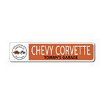 Dad Car Lover Gift, Custom Father Sign, Chevy Corvette Sign, Corvette Garage Decor, Corvette Flags Sign