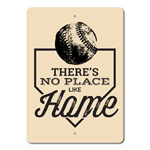 No Place Like Home Sign, Baseball Phrase Sign, Baseball Lover Gift, Home Plate Sign, Baseball Decor, Home Base Sign