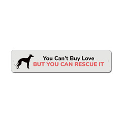 Rescue Dog Sign, Dog Rescuer Gift, Dog Rescue Sign, Greyhound Gift, Greyhound Sign, Dog Lover Gift, Dog Gift