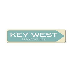 Key West Sign, Key West Decor, Paradise Sign, Paradise Decor