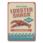 Lobster Shack Decor, Lobster Shack Sign, Lobster Lover Gift, Lobster Decor, Lobster Sign, Seafood Sign, Meal Sign