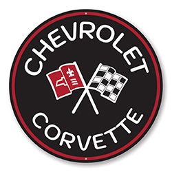 Chevy Corvette Car Sign