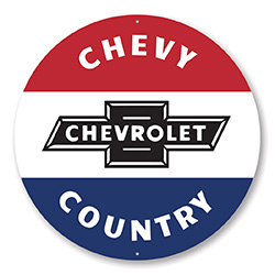 Chevy Country Car Sign