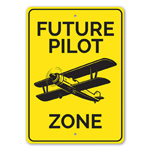 Future Pilot Zone Room Sign