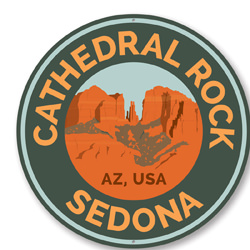 Cathedral Rock Trail Sign