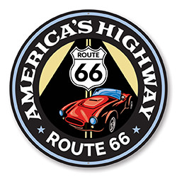 America's Highway Route 66 Sign