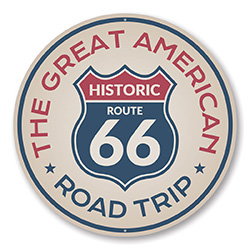The Great American Road Trip Route 66 Sign