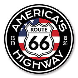 America's Highway Est 1926 Route 66 Sign