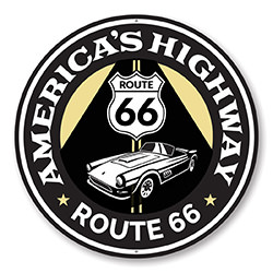 America's Highway Route 66 Road Sign