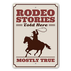 Rodeo Stories Told Here, Ranch Decor Sign, Horse Rider Gift Sign, Old Western, Cowboy Life, Country House