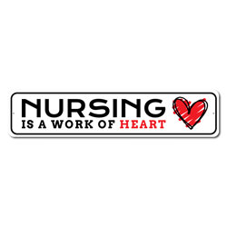 Nursing Sign, Frontliner Appreciation Sign, Salute to Health Workers Sign
