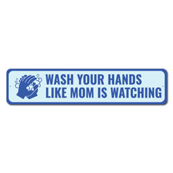 Hand Washing Sign, Frontliner Appreciation Sign, Salute to Officers Sign