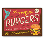 Homestyle Burgers Sign, Grill Sign