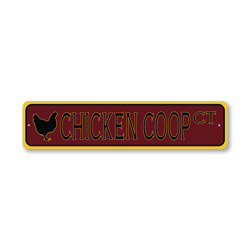 Chicken Coop Court, Egg Farm Sign, Barn Sign